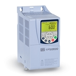 WEG CFW500 Variable Frequency Drive, 230 V/3 Ph Input, 4.3A, CFW500A04P3B2NB20