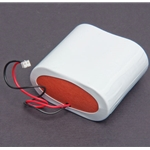 Replacement Lithium Battery Pack (2 D Cell) for Seametrics® WMX104 iMAG Magnetic Flowmeters