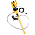Use Lutz drum and container pumps to safely transfer almost any chemical or lubricant. Features polypropylene construction. Chemical Compatibility: aluminum sulfate, calcium hydroxide, citric acid, ferric chloride, hydrochloric acid, hydrogen peroxide, polymers, potassium permanganate, soda ash, sodium bisulfate, ...