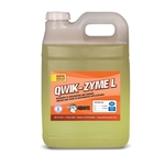 Quick-Zyme L is perfect for grease control in sequencing batch reactors' lift stations' wastewater treatment plants' equalization tanks and food processing plants. Not a bacterial product' this high-tech saliva consists of three types of lipid-degrading enzymes. Use it to hydrolyze ...