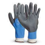 These fully coated gloves feature a 15-gauge nylon shell double dipped in HPT' a proprietary PVC-based coating that repels water and provides a great grip. They're ideal for maintenance or janitorial projects. Gloves feature a standard nylon shell. Sold by ...