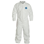 Tyvek® Coveralls w/ Elastic Wrist & Ankles' TYT125S' X-Large