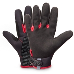 A high dexterity fit and light/medium cut resistance make these gloves great for working with sharp materials. Gloves are made of comfortable poly mesh with Armortex®-backed palms for cut protection. They feature a hook-and-loop closure with ID space to write ...