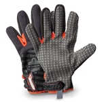 These gloves feature a hex silicone palm pattern for a super-tacky grip on dry, smooth surfaces. The breathable poly mesh construction provides a comfortable fit. The molded hook and loop closure includes an ID space. Machine washable. Sold by the ...