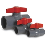 These compact ball valves fit into spaces too small for other valves, and are ready to go into service right out of the box. They feature a rugged all-plastic design usually found only in higher cost ball valves. The internal ...