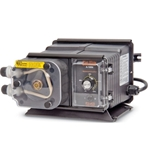 These pumps are naturally degassing and self-priming—ideal for use with off-gassing chemicals like sodium hypochlorite. True variable-speed DC motors provide consistent chemical feed' minimizing pump maintenance and eliminating the need for mechanical starting/stopping. Continuous-duty motors offer advanced ...