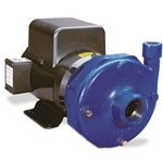 Use these cast-iron bronze-fitted pumps for booster service' or as a primary feed pump for water service. Enclosed impeller ensures efficiency and long life' and renewable wear rings keep the pump operating like new. Replaceable SS sleeve protects motor shaft. ...