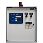 These flexible, versatile control panels feature everything you need to operate new or existing pump stations. They handle three voltages (208/240/480 VAC), and a wide range of pump motor amperage requirements using field-installable overload modules (4.5-18 or 8-32 FLA). Units ...
