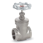 Non-rising stem design is ideal for confined spaces. All gate valves are designed to operate fully open or fully closed. Full port.
