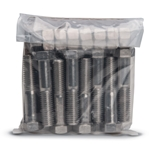 "Bolt & Nut Pack for 2' 2-1/2 & 3"" Flanges' 304 SS Bolts"