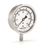 These gauges are great for monitoring water tanks, tower levels, stand pipes and reservoirs. Dual scales read psi and ft of elevation. Suitable for use with potable water. Premium water level gauges feature 1% accuracy over the full range. All ...