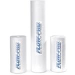 Melt blown cartridges are ideal for general filtration applications and are commonly used for reverse osmosis pre-filtration. The special polypropylene construction provides maximum filter life while eliminating media migration, channeling and unloading.
