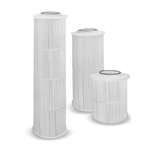 These filter cartridges deliver maximum throughput and particle retention at the lowest pressure drop. The center tube, end cap and polypropylene filter media are thermally bonded as one unit for optimal strength and a positive seal. Maximum temperature: 160°F. Filter ...