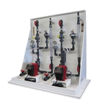 Jesco chemical feed skid systems come pre-plumbed, so they're easy to install and operate. Just provide a 115-VAC power source, and connect the suction and discharge ends. The MAGDOS LA solenoid-driven diaphragm pumps can be controlled manually or externally via ...