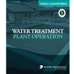 Water Treatment Plant Operation' Volume 1' 7th Edition