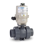 These true union electrically actuated ball valves feature corrosion-resistant plastic parts for a long, trouble-free life. Most models are in stock and ready to ship today. These actuators close more slowly (9.2 seconds) to prevent water hammer. They feature reversing ...