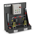Our chemical feed skid systems are configured for the most common municipal applications. Fully assembled and tested' they're pre-plumbed for plug-and-play convenience—simply supply power to the control panel and connect the piping to your system. Each system features two LMI ...