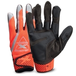 Your go-to safety gloves for both day and night! These high-visibility gloves are designed with 4-way stretch spandex and ToughX™ suede palm for a comfortable fit and added durability. Gloves also feature neoprene knuckles with reflective piping, terry cloth wipe ...