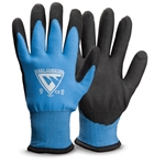 These general-purpose insulated gloves will keep your hands warm, dry and mobile in cold wet winter conditions. The foam bi-polymer palm-dipped coating repels water, provides excellent abrasion resistance and enhances grip. Acrylic terry lining provides superior warmth and comfort. Sold ...