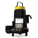 Goulds GFK series pumps offer dependable performance for a wide range of wastewater applications. Pumps feature robust cast-iron construction for a long service life and easy maintenance. Air-filled motors maximize efficiency, while double mechanical seals provide extra protection against seal ...