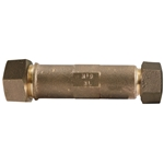 These repair style couplings have extra length that makes up for the missing pipe gap when you cut out an old fitting or pipe section. Coupling has no internal pipe stops, so you can easily slide it into place. Eliminate ...