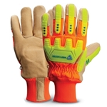 Perfect for midnight water main breaks' handling samples' and working around snow and ice' these insulated gloves will keep you warm and protected even in sub-zero weather. TPR (thermoplastic rubber) gloves feature TPR finger' hand and knuckle guards that protect ...