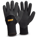 DeWalt® thermal grip gloves feature unique 2-in-1 glove technology to keep your hands warm and dry, while protecting you on the job site. The inner brushed acrylic knit thermal liner retains heat while maintaining dexterity. The outer nylon knit shell ...
