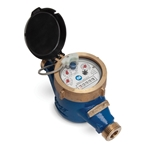 "Multi-Jet WaterMeter' 2""' Contact Output' Gallons' 11.75""OL"