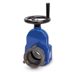 "Heavy-Duty Hydrant Shutoff Valve with Hand Wheel, 2-1/2"" NST"