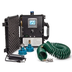Easily monitor and record water quality while flushing hydrants with the Eclipse 9750i' also known as