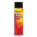 This dual action insect spray kills on contact and protects for up to 3 months. It's highly effective against many types of bugs, including ants, bees, beetles, cockroaches, lice, scorpions, spiders, and other pests. For use indoors and outdoors.