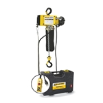 This ultra-lightweight hoist weighs only 18 pounds, but will carry up to a 500-lb load. Overload protection on the hoist uses a high-performance friction clutch that's integrated with the load brake. This device is designed to prevent overloading to the ...