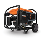 Commercial Generators can be easily transported across rough or difficult terrain with heavy-duty, never-flat wheels and a fold-down handle. The OHV engine and large-capacity steel fuel tank ensure extended engine life and run times, while the steel tube cradle provides ...