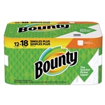 Bounty® Roll Towels, 12 Rolls, 54 Sheets per Roll