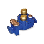 Use these economical compound meters for installations where flow rates are typically medium and high, but can occasionally be low. They're ideal in commercial and industrial service for potable cold water flowing in one direction. Their compact single-body design allows ...