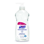 PURELL® Advanced Hand Sanitizer Squeeze Bottle with Pump, 12.6-oz