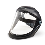 MaxView premium face shields feature an oversized optically clear window that provides an exceptional panoramic view. Built-in side and chin guards protect against splashes and flying debris, while an extended crown keeps you safe from overhead hazards. Exclusive 370 speed ...