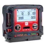 The GX-3R Pro is the smallest 5-channel gas detector available, fitting in the palm of your hand. At only 4.58 ounces, it's great for clipping to your collar or lapel to detect dangerous gases in the ten inch radius around ...