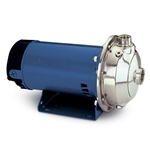 Goulds MCS series end suction centrifugal pumps feature high-quality 316 SS wetted parts for long life. Casing can be rotated to nine different positions for various piping configurations. Pumps are configured with upgraded carbon/silicon carbide and Viton® seals, and are ...