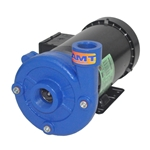 This precision-manufactured AMT high head centrifugal pump offers a high working pressure for booster applications where a standard pump won't work. Back pull-out design makes servicing easy. Features a NEMA frame TEFC motor. Cast-iron body with 316 SS impeller.