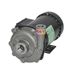 This precision-manufactured AMT high head centrifugal pump offers a high working pressure for booster applications where a standard pump won't work. Back pull-out design makes servicing easy. Features a NEMA frame TEFC motor. All 316 SS investment cast body and ...