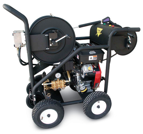 Cam Spray SW Series Gas Jetter 13HP Honda (4GPM @ 3000PSI)