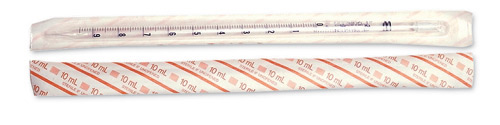 Pyrex Disposable Glass Pipets 1mL Individual Wrapped 200/pk