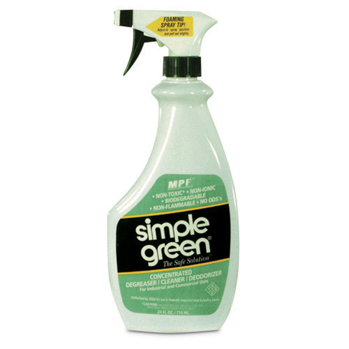 Simple Green 24oz Spray Bottle Sold Each, USDA Authorized
