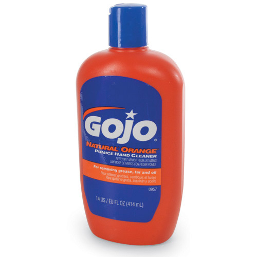 GOJO Hand Cleaner, 14 oz With Pumice