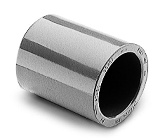 "Schedule 80 PVC Coupling 1/2"" Slip x Slip, (Pack of 4)"