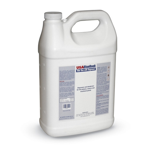 USABlueBook Odor Ban w/ Degreaser' 1-Gallon Bottle' 4/Case
