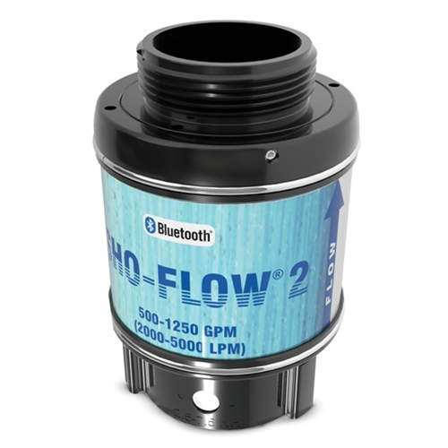 "SHO-FLOW Bluetooth Flow Meter, 2.5"" NST (MxF), 500 to 1250 gpm"